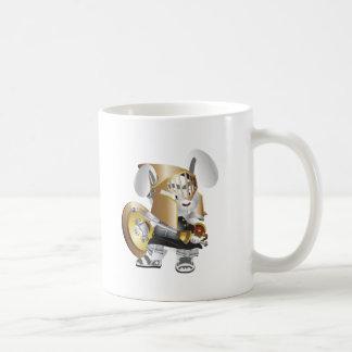 Gladiator-Häschen Kaffeetasse