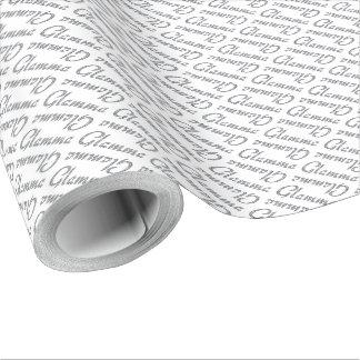 Glamma bling Entwurf Geschenkpapier
