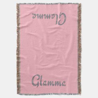 Glamma bling Entwurfs-Wurfsdecke Decke
