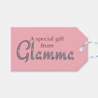 Glamma bling Entwurfsumbau Geschenkanhänger