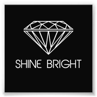 Glanz hell wie ein Diamant Kunstfoto