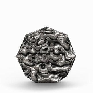Glänzende metallische Reflexionen Acryl Auszeichnung