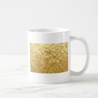Glänzender GoldGlitterhintergrund Tasse