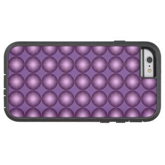 Glänzender Lavendel-Tupfen Tough Xtreme iPhone 6 Hülle