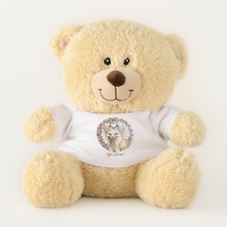 Glänzender WüsteFox Teddybär