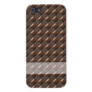 Glänzendes Kupfer iPhone 5 Hülle