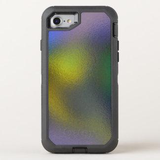 Glas verzerren (11 von 12) (Gelb) OtterBox Defender iPhone 8/7 Hülle