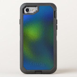 Glas verzerren (11 von 12) (Grün) OtterBox Defender iPhone 8/7 Hülle