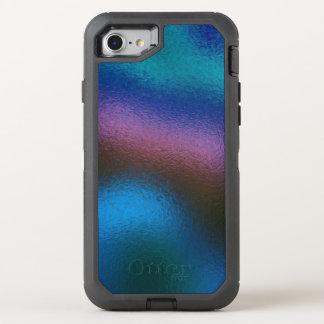 Glas verzerren (2 von 12) (Blau) OtterBox Defender iPhone 8/7 Hülle