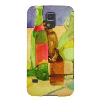 Glasflaschen-Aquarell Galaxy S5 Cover