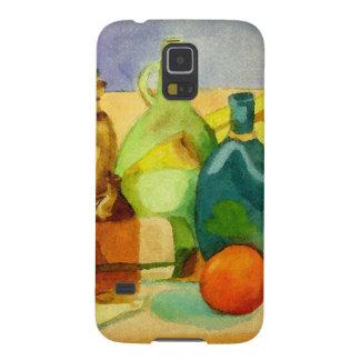 Glasflaschen-Aquarell Samsung S5 Hülle
