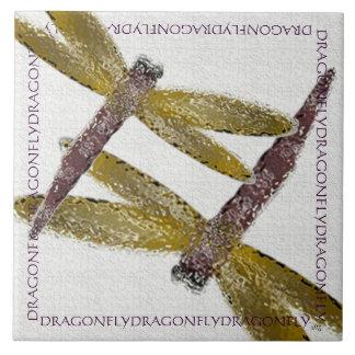 Glaslibellen Keramikfliese