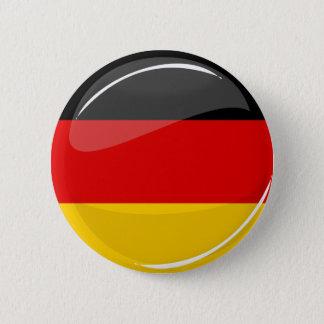 Glatte runde deutsche Flagge Runder Button 5,7 Cm