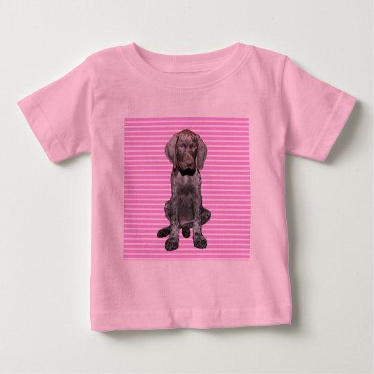Glatter Graubär im Rosa Baby T-shirt