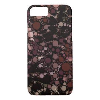 Glatter Pfirsich Burgunder abstrakt iPhone 8/7 Hülle