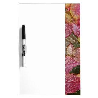 Glattes Herbst-Blätter, Wachs-Blick 001.1.3 Trockenlöschtafel