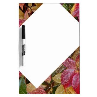 Glattes Herbst-Blätter, Wachs-Blick 001,1 Memoboard