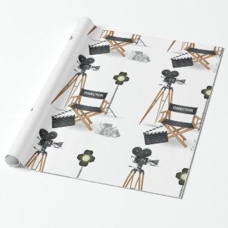 Glattes Verpackungs-Papier Film-Direktorn-Set Geschenkpapier