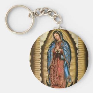Glaube, gesegnete Jungfrau Mary Schlüsselanhänger