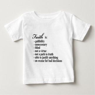 Glaube ist Gullibility Baby T-shirt