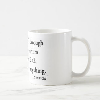 Glaube prüft nichts kaffeetasse