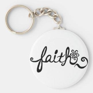 Glaube Schlüsselanhänger