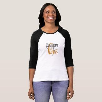 Glauben-, Hoffnungs-und Liebe-Spitze 2 T-Shirt