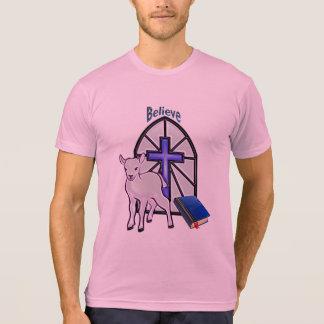 Glauben Sie an das Lamm T-Shirt