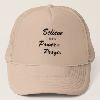 Glauben Sie an den Power des Gebets, Truckermützen