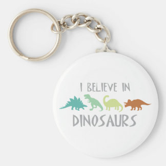 Glauben Sie an Dinosaurier Schlüsselanhänger
