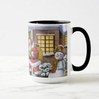 Glauben Sie an Sankt-Kaffee-Tasse Tasse
