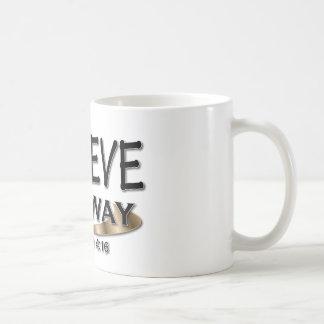 Glauben Sie irgendwie Kaffeetasse
