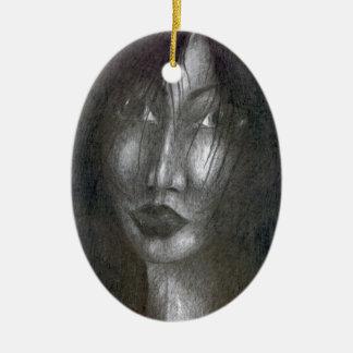 Glauben Sie mir Keramik Ornament
