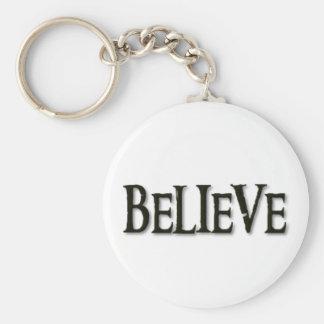 Glauben Sie Schlüsselanhänger