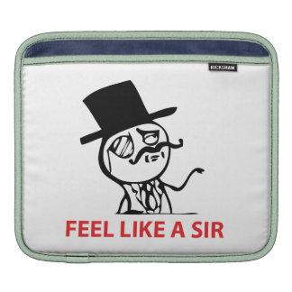 Glauben Sie wie ein Sir - Hülse iPad1/iPad2 Sleeve Für iPads