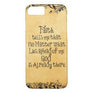 Glauben-Zitat iPhone 7 Hülle