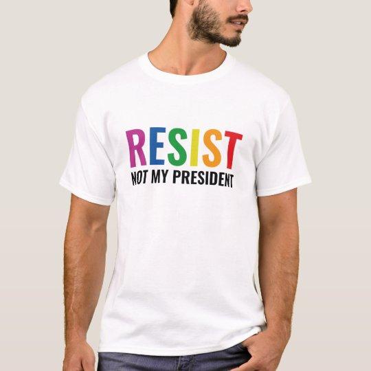 Glbt widerstehen T-Shirt
