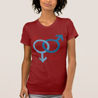 Gleich-Sex Liebe (Mann) T-Shirt