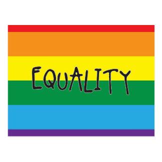 Gleichheit für alle postkarte