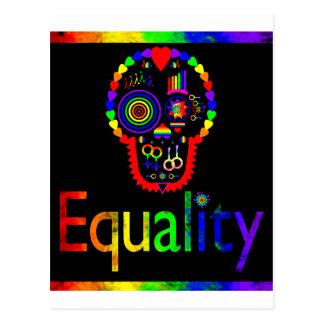 Gleichheit für jeder - sogar die Toten Postkarte