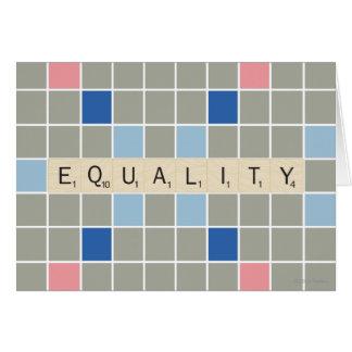 Gleichheit Karte