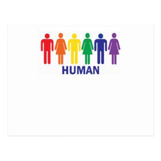 GLEICHHEITS-RECHT DER HOMOSEXUELLENS-REGENBOGEN POSTKARTE