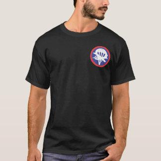 Gleitschirm-im Flugzeug Flügel-T - Shirts