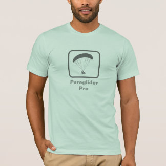 Gleitschirm Pro (graues Logo) T-Shirt