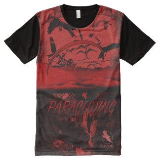 GLEITSCHIRMFLIEGEN PG-37 Ponto Zentrale T-Shirt Mit Bedruckbarer Vorderseite