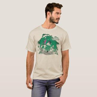 GLEITSCHIRMFLIEGEN PG-CIRCLE 003 Ponto Zentrale T-Shirt