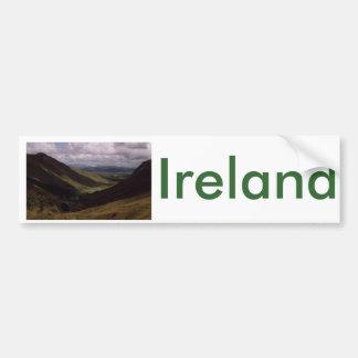 Glen Gesh, Landkreis Donegal, Irland Autoaufkleber