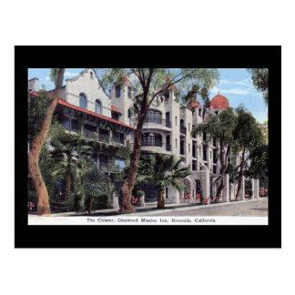 Glenwood Auftrag-Gasthaus, Flussufer CA Vintag Postkarte