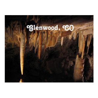 Glenwood Höhlen Postkarte