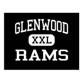 Glenwood - RAMs - Senior - Glenwood Iowa Postkarte